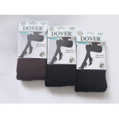 Колготки женские теплые из хлопка с начесом Dover 8868 мягкие и комфортные