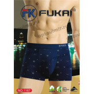 Мужские боксеры Fukai премиум однотонные 1167 оптом