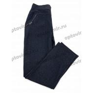 Брюки женские с карманами Наташа бамбук Н19 оптом