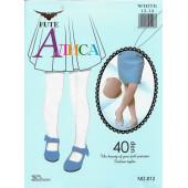 Колготки детские Алиса 40 den белые 812 оптом