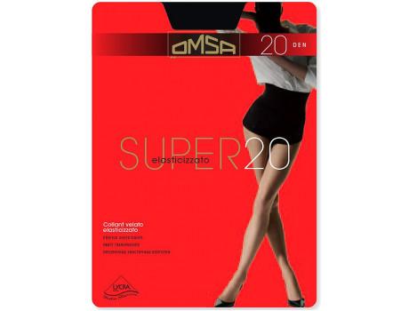 Колготки женские тонкие 20 дэн без лайкры Omsa Super 20