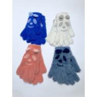Перчатки детские Анита пушистые ангора мордочки