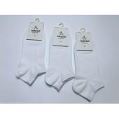Носки женские хб короткие белые Dmdbs BY-037