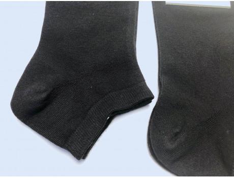 Носки женские DMDBS  короткие хлопковые черные BY-050-1