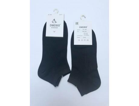 Носки женские DMDBS  короткие хлопковые черные BY-050-2