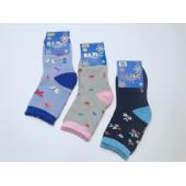 Носки детские для девочек Вальс махровые 2802