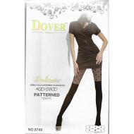 Колготки женские Dover имитация ботфорт 40d/280d рис.сердца 8749 оптом