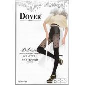 Колготки женские Dover имитация ботфорт рис. горох 8745 оптом