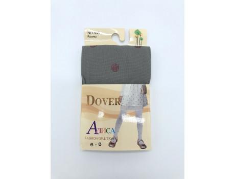 Колготки детские Алиса Dover капрон рис. горошек люрекс 868-1