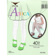 Колготки детские Алиса Fute белые 40 den 835 оптом