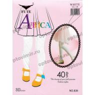 Колготки детские Алиса белые 839 оптом