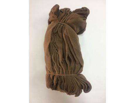 Колготки для бабушек хлопковые телесные ажурные Делика-2