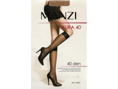 Гольфы женские Manzi капроновые с комфортной резинкой 40 den 13007