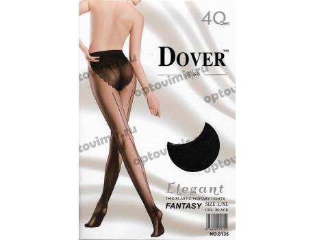 Колготки женские Dover 40d Elegant Fantasy стрелка по ноге сзади 8135