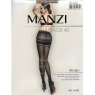 Колготки женские Manzi капроновые 40d утяжка 16150 оптом