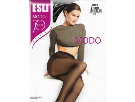 Колготки женские ESLI MODO капроновые матовые 70 den с уплотненным верхом