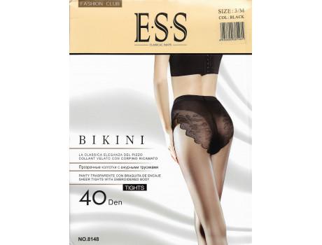 Колготки женские прозрачные ажурные бикини ESS 40 den 8148