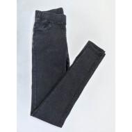 Лосины женские Лепесток потертая джинса 9997 оптом