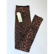 Лосины женские Лепесток леопард 1040 оптом