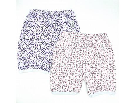 Панталоны женские хлопковые в цветочек Дамиртекс ТМ3