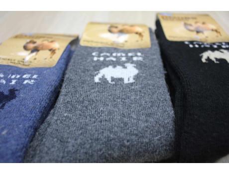 Носки мужские термо из верблюжьей шерсть в коробках DMDBS А16-008-3
