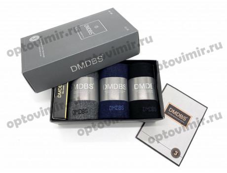 Носки мужские Dmdbs ароматизированные в коробке короткие 3 пары + парфюм AF-386