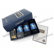 Носки мужские Dmdbs арома в коробке AF-355 с кремом оптом