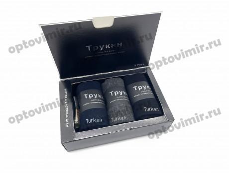 Носки мужские Turkan ароматизированные в коробке с масляными духами Т-557-1