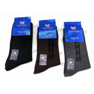 Носки мужские классические ISKRA хлопковые А62 оптом