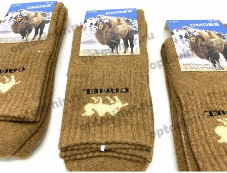 Носки мужские Dmdbs верблюжья шерсть махра в сумках А510-1