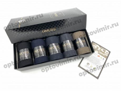 Носки мужские Dmdbs ароматизированные кашемировые в коробке А20-01