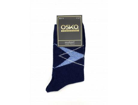 Носки мужские кашемир термо с узором Osko В26-19-1