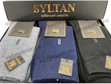 Носки мужские термо Syltan собачья шерсть в коробке 7102-3-2