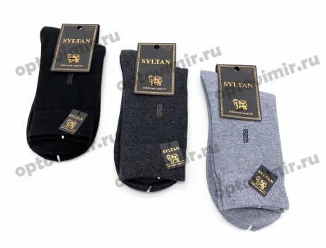 Носки мужские термо Syltan собачья шерсть в коробке 7102-3-1