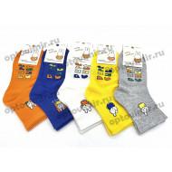 Носки детские цветные зайчики 0104 оптом