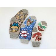 Шерсть детские носки Тамбов (Россия) Д1 оптом
