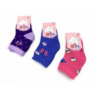 Носки детские Вальс для девочек с рисунком Ва-30 оптом