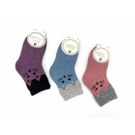 Носки детские Dmdbs шерсть махровые котик С16-005 оптом