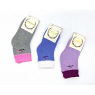 Носки детские DMDBS для девочек махровые цветок С003 оптом