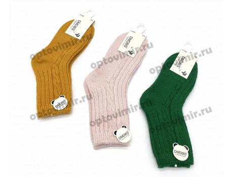 Носки детские кашемировые цветные с узором Dmdbs С536