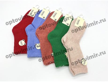 Носки детские Dmdbs для девочек кашемир однотонные рубчик С-533