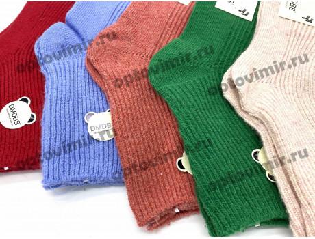 Носки детские Dmdbs для девочек кашемир однотонные рубчик С-533-1