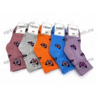 Носки детские Dmdbs хб махровые для девочек С119 оптом