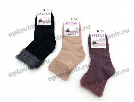 Носки детские Syltan тонкие из соболя с опушкой 4015