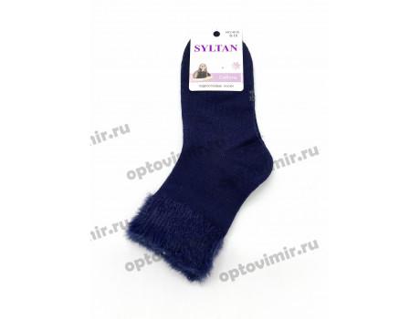 Носки детские Syltan тонкие из соболя с опушкой 4015-1