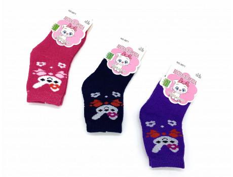 Носки детские хлопковые термо с рисунком Весна-хороша 3871