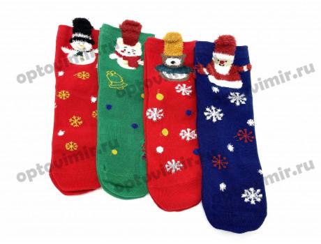 Носки детские RoeRue новый год в подарочной коробке 3242-1