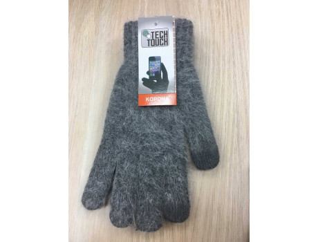 Перчатки женские Корона шерстяные сенсорные пальцы G7324-1