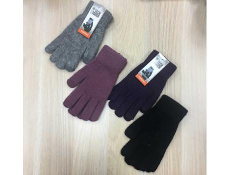 Перчатки женские Корона шерстяные сенсорные пальцы G7324-2