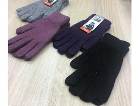 Перчатки женские Корона шерстяные сенсорные пальцы G7324-3